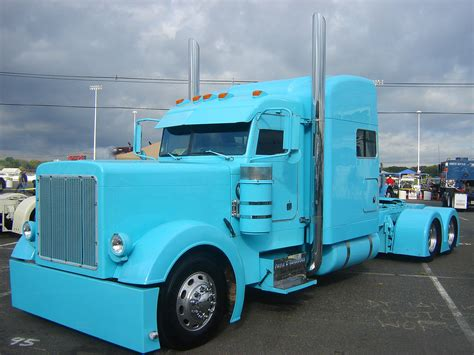 Hd Truck Peterbilt Custom Big Rig Semi Tractor Photos
