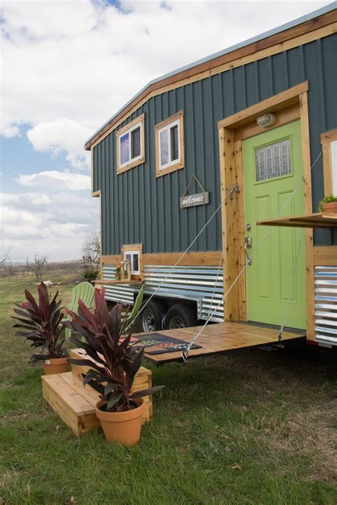 raw design creatives homestead tiny house  wheels