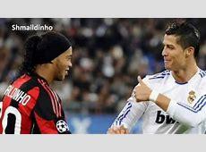Ronaldinho FOULS Cristiano Ronaldo Hard Tackle [1910