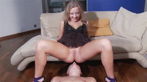 Drunk Russian Mistress Pissing And Humiliating Slave In