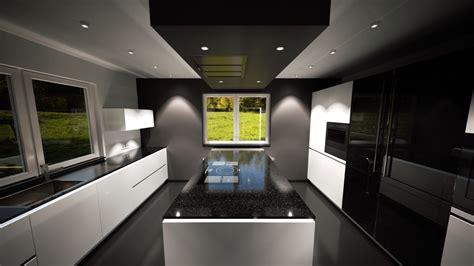 Weiße Küche Mit Schwarzer Granitplatte by 220 Ber Uns Deine Kochinsel