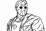 Jason Coloring Pages Voorhees 13th Friday Deviantart Drawing Freddy Vs Th Printable Venetia Unlikely Friendship Sketch Trending Days Last Explore sketch template