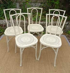 Chaise De Jardin Metal : cinq chaises anciennes de jardin ann es 50 en metal ~ Dailycaller-alerts.com Idées de Décoration