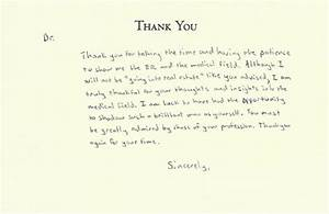 flattery With thank you card letter