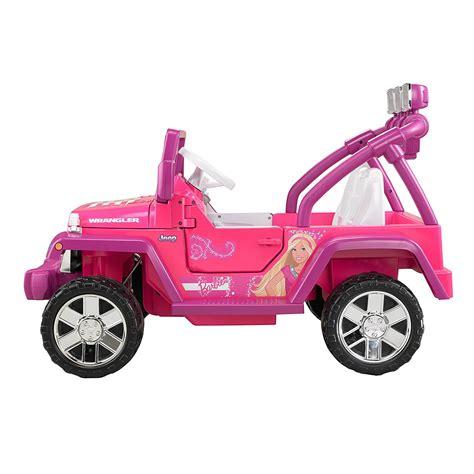 barbie jammin jeep fisher price power wheels barbie deluxe jammin jeep