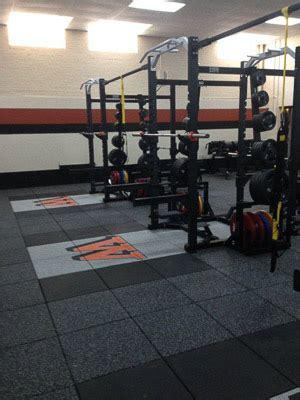 waynesburg university weight room installation power lift