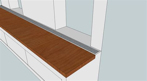 Flush Window Sill by How Do I Remove Window Sill Apron Overhang Home