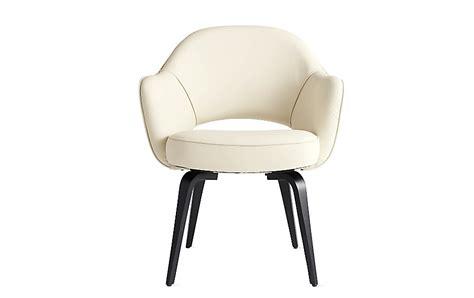 saarinen executive armchair with wood legs design within