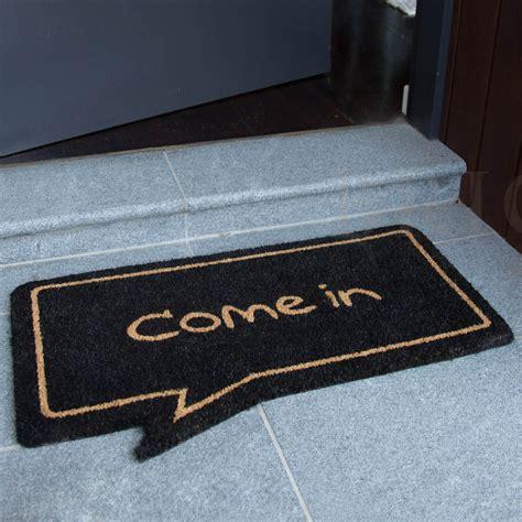 Black Coir Doormat by 45 X 75cm Coir Black Rubber Door Mat
