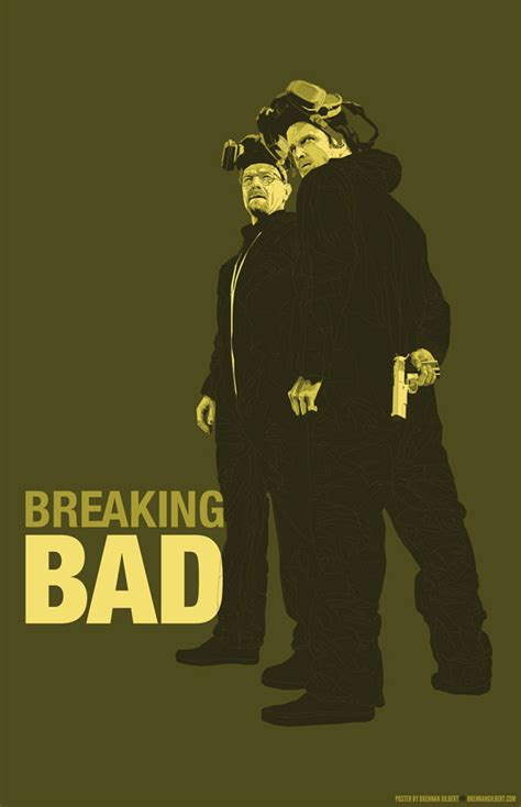 breaking bad poster breaking bad poster on behance