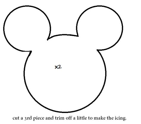 Free Printable Minnie Mouse Bow Template by How To Make A Minnie Mouse Cookie Plushie Tutorial Hapy