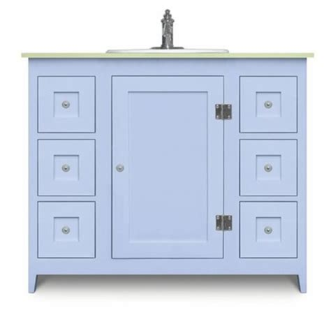 Colorful Bathroom Vanities by Colorful Bathroom Vanities From Cottage And Bungalow