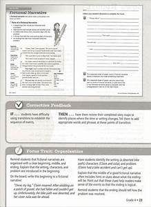 Writing Handbook Teacher U0026 39 S Guide Grade 4