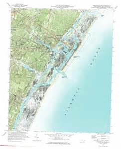 Wrightsville Beach North Carolina Map