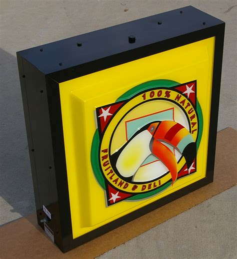 Sign Cabinets by Wholesale Aluminum Illuminated Extruded Sign Cabinets