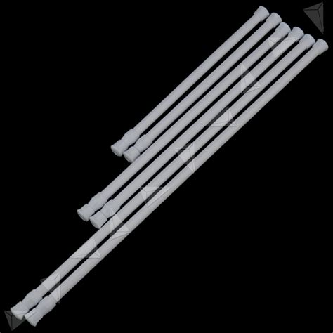 no drill curtain rods uk loaded net rod voile shower bath curtain rail