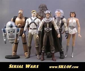 Serial Wars Custom Star Wars Themed Action Figures