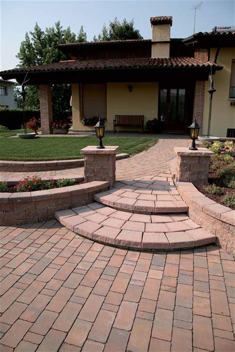 mattoni in cemento per giardino muretto di mattoni in calcestruzzo per giardino murago