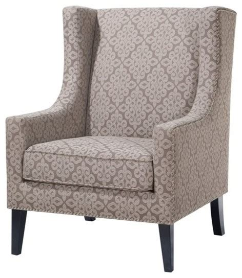 barton wing chair contemporary armchairs and accent
