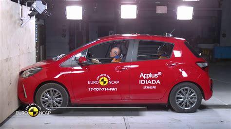 euro ncap crash test  toyota yaris youtube
