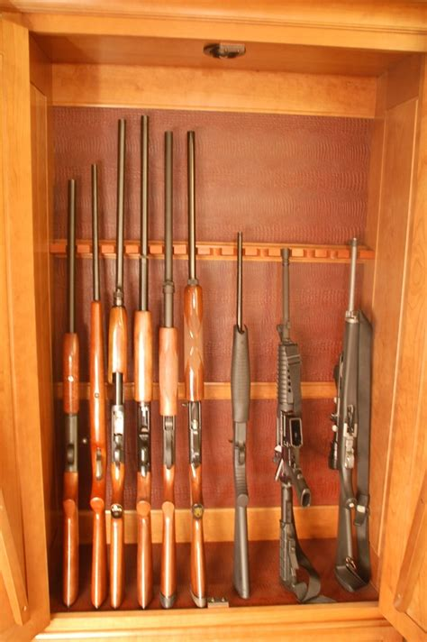 images  diy gun cabinet  pinterest