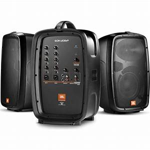 Jbl Sound System : jbl eon206p portable 6 5 two way pa system eon206p b h ~ Kayakingforconservation.com Haus und Dekorationen