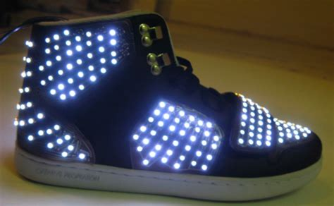 Motion Sensing Animated Led Sneakers
