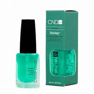 Cnd treatments prep stickey base coat oz hot nail pens