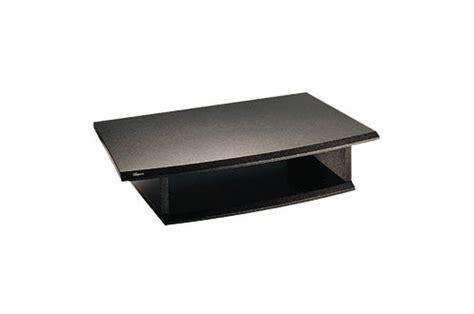 accessoire meuble cuisine accessoire pour support tv vogel 39 s plateau bois tv vcr