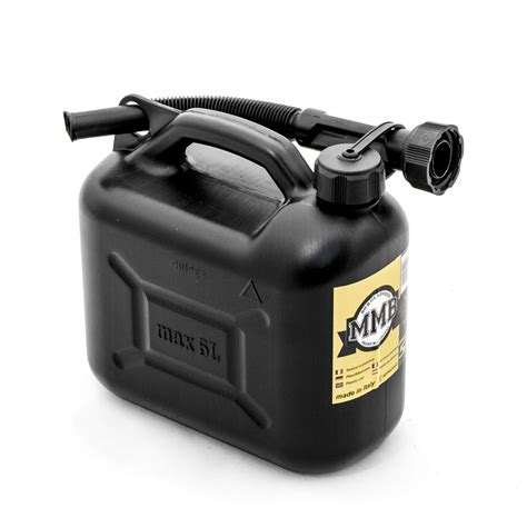 5 liter benzinkanister mmb benzinkanister kunststoff 5 liter schwarz kotte zeller