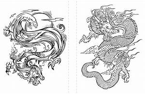 Free Dragon Coloring Page To Print  Adult Coloring