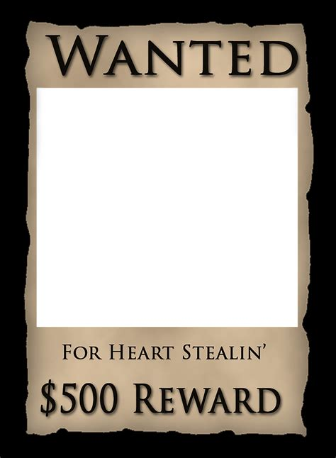 wanted-poster-template-western.png | GraphicPlace