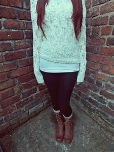 Ideas How To Wear Shoes Ideas Cute Winter Outfits With ...