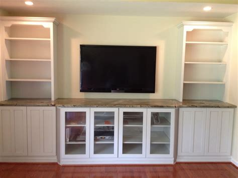 built in wall unit with desk and tv hand crafted built in tv wall unit by natural woodworks