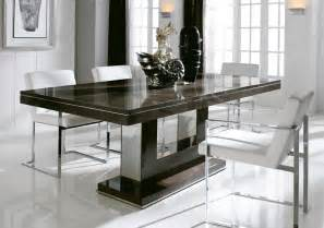 modern dining room sets with bench interesting modern dining table dining room