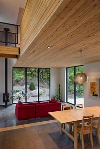 Wooden, Residence, By, Thellend, Fortin, Architectes