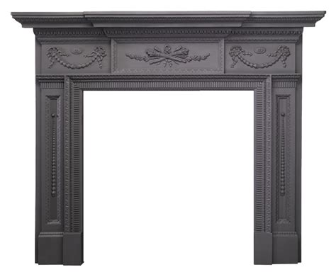 Stovax William IV Cast Iron Mantel   Stovax Mantels