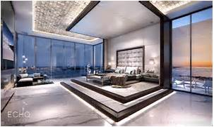 Luxurious Penthouse Dramatic Interior Echo Brickell Penthouse Se Trata De Un Departamento Que Cubre La