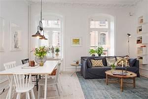 appartement a goteborg mariekke With meuble de salle a manger avec tapis scandinave vintage