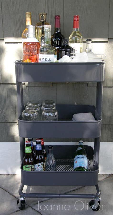creative ways    raskog ikea kitchen cart