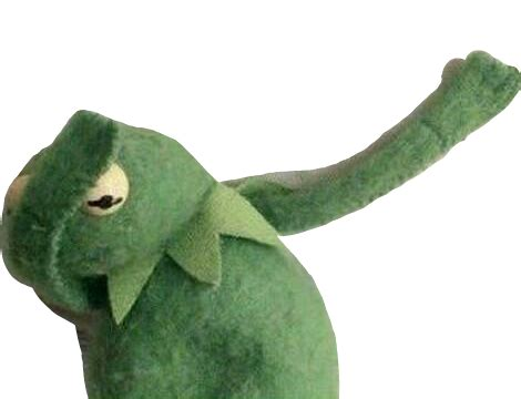 Dab frog kermitthefrog kermitmemes kermit