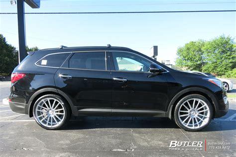 Hyundai Santa Fe Rims by Hyundai Santa Fe Custom Wheels Search Car Ideas