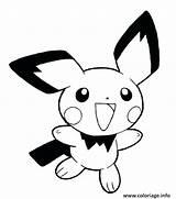 Pichu Pokemon Easy Drawing Coloring Pages Pikachu Cricut Eve Siluetas Pumpkin Getdrawings Anime Step Cut Printable Colouring Picchu Drawings Machu sketch template