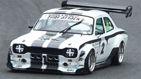 Ford Escort MK1 RSR-8 Time Attack 2015 Round 4 - Oulton ...