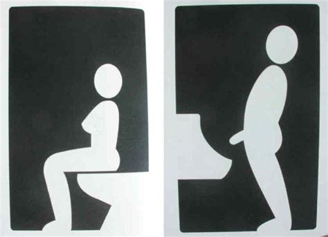 funny  creative toilet signs    world