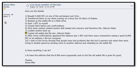 Afterward this, the pass around presents the lowborn methods to buy bitcoin and gives an overview of various. The Decade Long Search for the Lost 8,999 Bitcoin: Is it ...