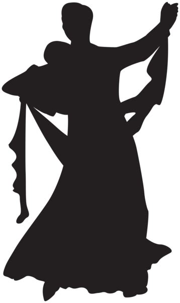dancing couple silhouette png clip art gallery