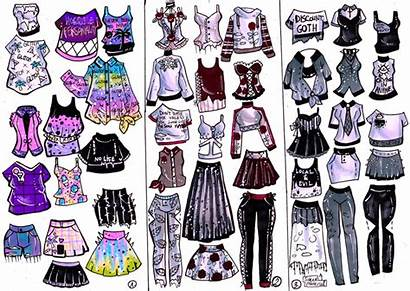 Edgy Deviantart Clothes Drawings Vibes Anime Drawing