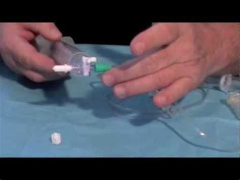 chambres implantables perfusion à domicile remplissage d 39 un diffuseur de