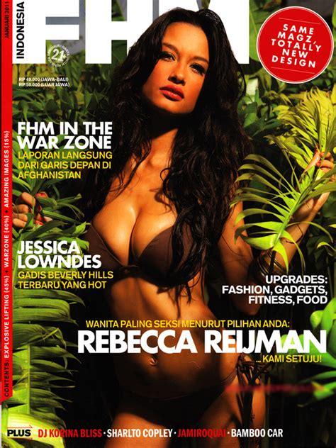 Majalah Wanita Dewasa Fhm Tina Toon 10 Selebriti Ini Pernah Jadi Model Cover